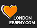 Logo of London-Ebony.com - The site dedicated to black escorts in London