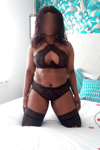 Black Mistress in London